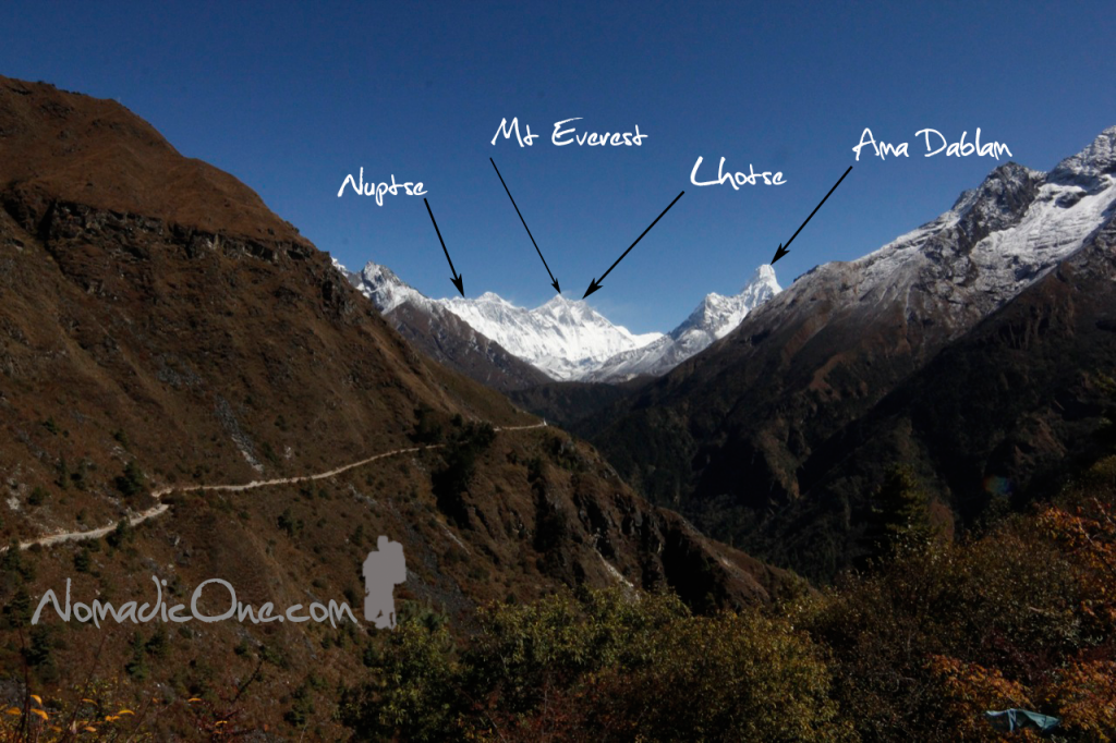 Clear view of Mt Everest!