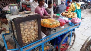 Street food in Thamel
