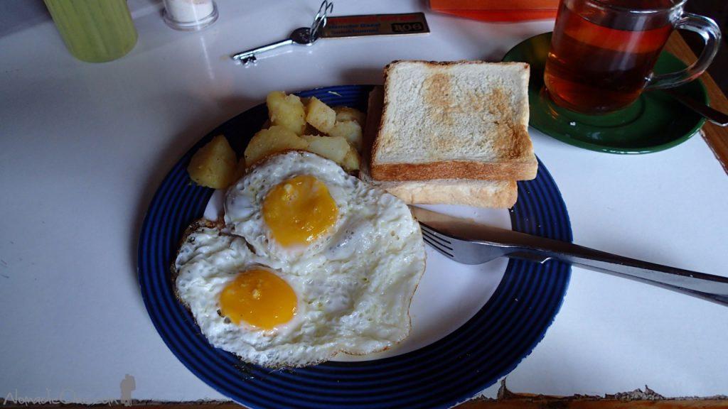 Breakfast at International Foot Rest Lodge