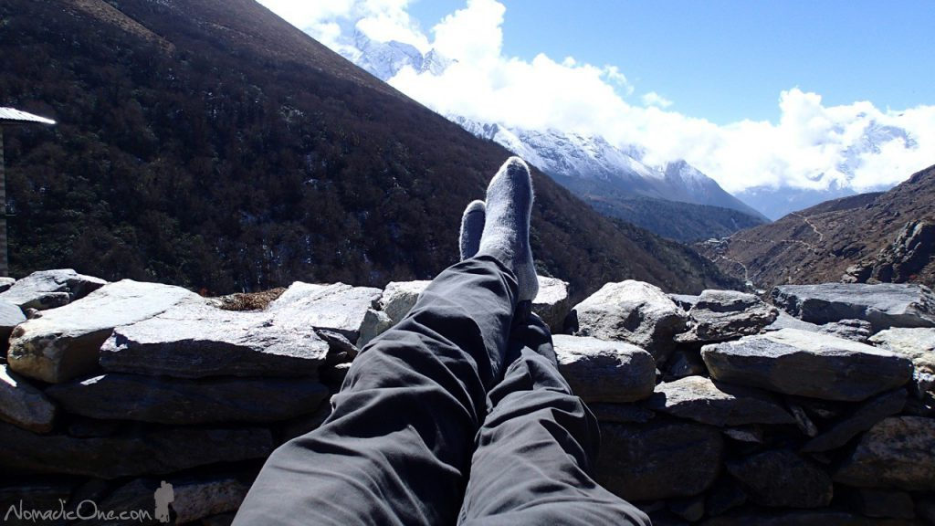 Where else in the world can you put your feet up and enjoy an awesome view like this!