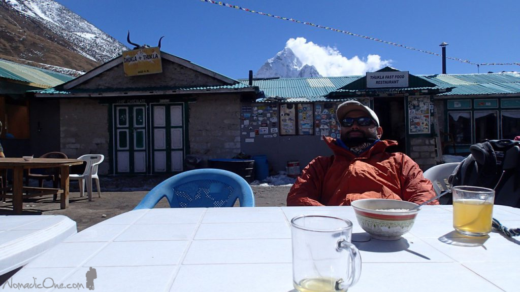 Lunch in Thukla