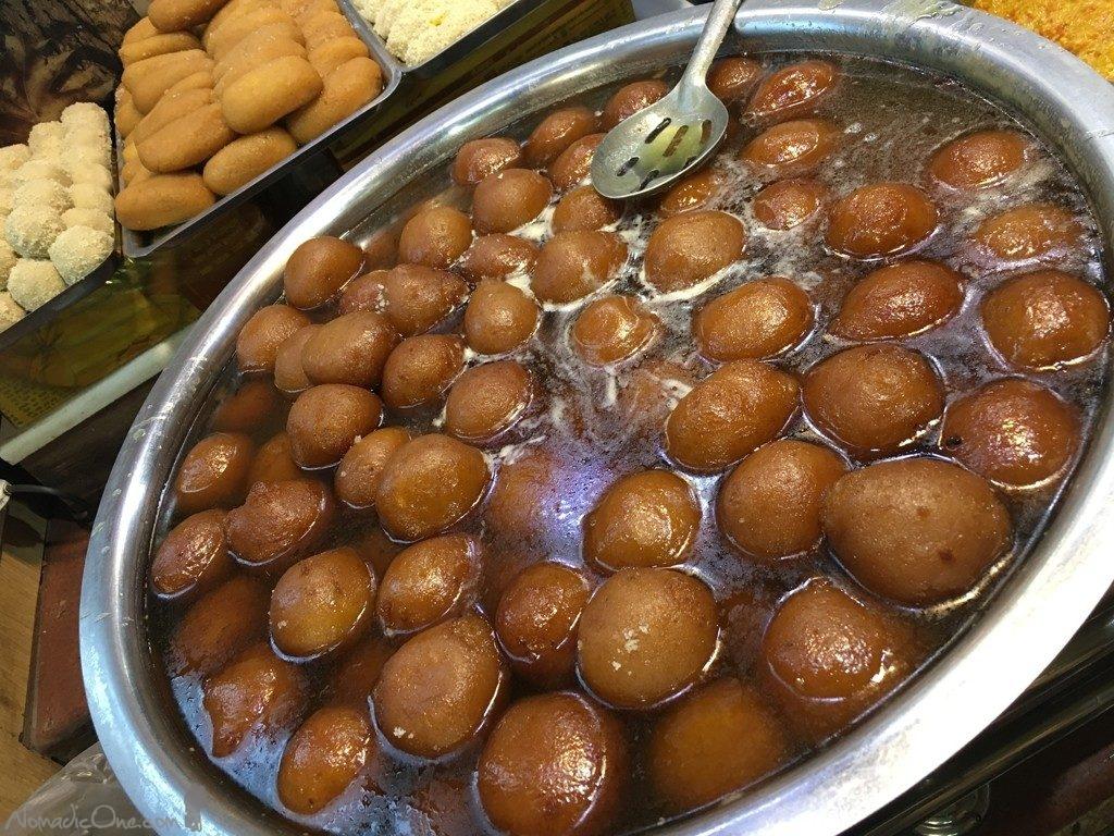 Fresh hot Gulab Jamun